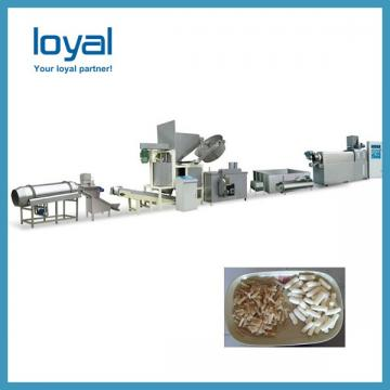 Flour crispy snacks salad chips processing line potato stick making machine