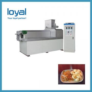 High protein wheat crispy fried bugles chips stick food frying machine