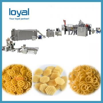 Crispy shell processing line/ Fried Snack Food wheat Flour Bugles Chips Making Machine