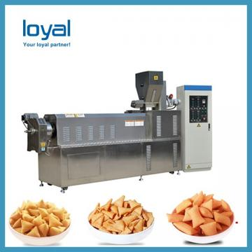 Commercial snacks food processing line Single screw fried food equipment