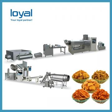 Auto Corn Bugles Chips Snack Machines Sala Sticks Wheat Shell Fried Food Processing Line