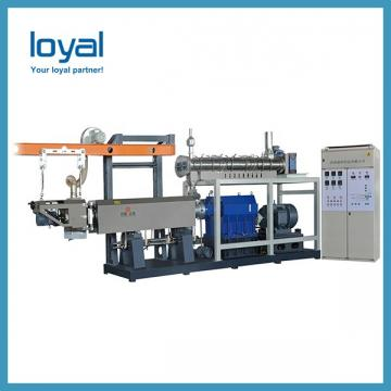Commercial Industrial Extruded Fried Wheat Flour Snacks Crispy Chips Machine