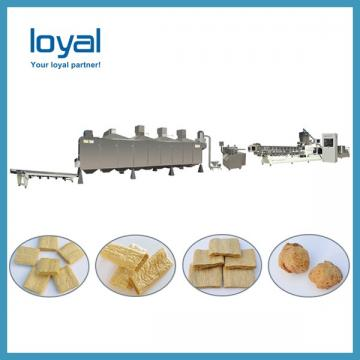 Texture soy bean protein meat making machine processing plant